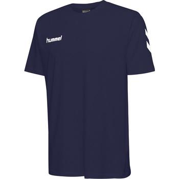 Odjeća Djeca Majice kratkih rukava Hummel T-shirt enfant  hmlGO cotton bleu marine