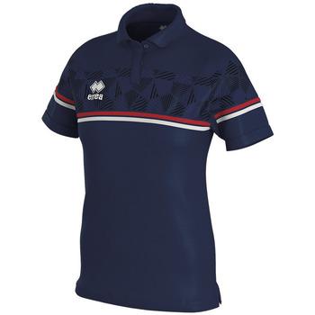 Odjeća Žene  Polo majice kratkih rukava Errea Polo femme  darya marine/gris/blanc