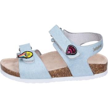 Obuća Djevojčica Sandale i polusandale Smiley BK510 Plava