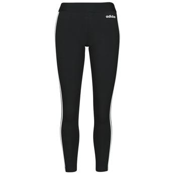 Odjeća Žene  Tajice adidas Originals W E 3S TIGHT Crna / Bijela