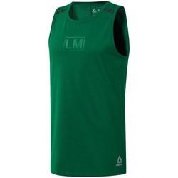Odjeća Muškarci  Majice s naramenicama i majice bez rukava Reebok Sport Les Mills Performance Zelena