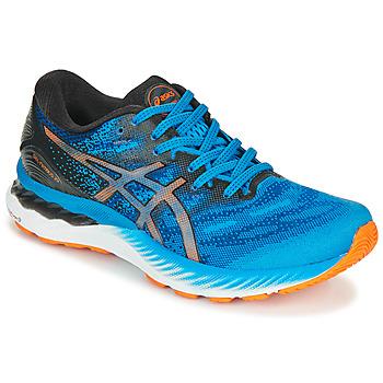 Obuća Muškarci  Running/Trail Asics NIMBUS 23 Blue / Multicolour