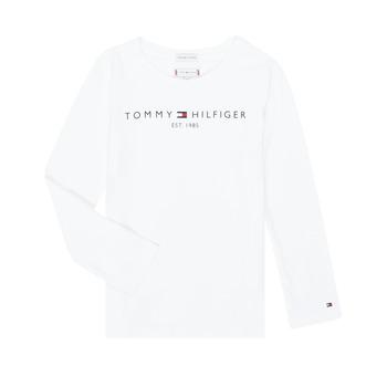 Odjeća Djevojčica Majice dugih rukava Tommy Hilfiger KG0KG05247-YBR-J Bijela