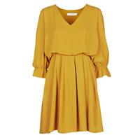 Odjeća Žene  Kratke haljine Naf Naf  Žuta