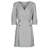 Odjeća Žene  Kratke haljine Naf Naf  Crna / Bijela