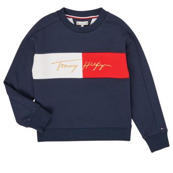 Odjeća Djevojčica Sportske majice Tommy Hilfiger KG0KG05497-C87-J Blue