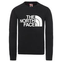 Odjeća Dječak  Sportske majice The North Face DREW PEAK LIGHT CREW Crna