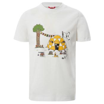 Odjeća Dječak  Majice kratkih rukava The North Face GRAPHIC TEE Bijela