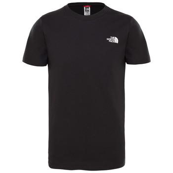 Odjeća Dječak  Majice kratkih rukava The North Face SIMPLE DOME TEE Crna
