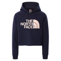 Odjeća Djevojčica Sportske majice The North Face DREW PEAK CROPPED HOODIE Blue