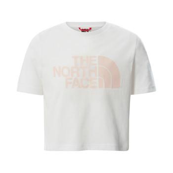 Odjeća Djevojčica Majice kratkih rukava The North Face EASY CROPPED TEE Bijela