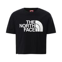 Odjeća Djevojčica Majice kratkih rukava The North Face EASY CROPPED TEE Crna