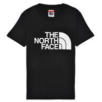 Odjeća Dječak  Majice kratkih rukava The North Face EASY TEE Crna