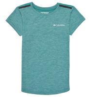 Odjeća Djevojčica Majice kratkih rukava Columbia TECH TREK Zelena