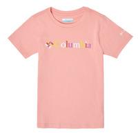 Odjeća Djevojčica Majice kratkih rukava Columbia SWEET PINES GRAPHIC Ružičasta