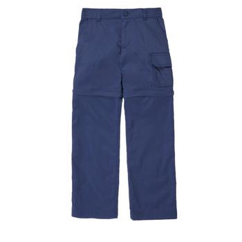Odjeća Djevojčica Hlače s pet džepova Columbia SILVER RIDGE IV CONVTIBLE PANT Blue
