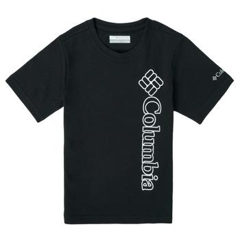 Odjeća Dječak  Majice kratkih rukava Columbia HAPPY HILLS GRAPHIC Crna