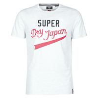 Odjeća Muškarci  Majice kratkih rukava Superdry COLLEGIATE GRAPHIC TEE 185 Siva
