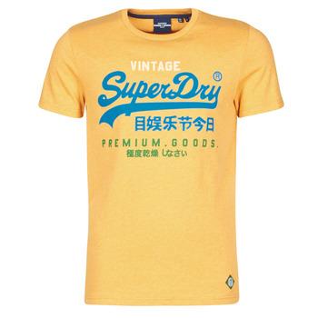 Odjeća Muškarci  Majice kratkih rukava Superdry VL TRI TEE 220 Žuta