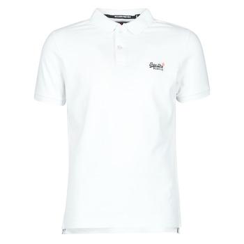 Odjeća Muškarci  Majice kratkih rukava Superdry CLASSIC PIQUE S/S POLO Bijela