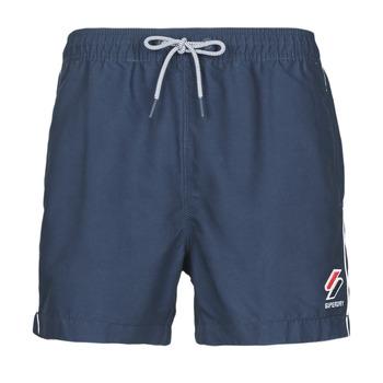 Odjeća Muškarci  Kupaći kostimi / Kupaće gaće Superdry TRI SERIES SWIM SHORT Blue