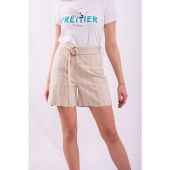 Odjeća Žene  Bermude i kratke hlače Fracomina FR20SM566 Bezbojna