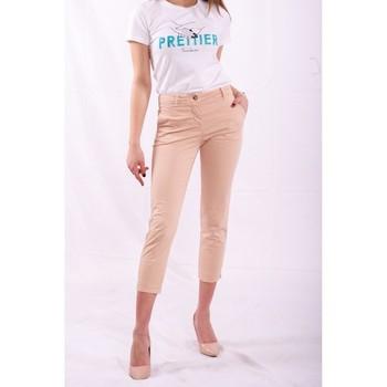 Odjeća Žene  Chino hlačei hlače mrkva kroja Fracomina FR20SPCTINA14 Bež