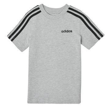 Odjeća Dječak  Majice kratkih rukava adidas Performance YB E 3S TEE Siva