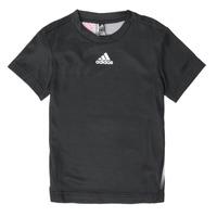 Odjeća Dječak  Majice kratkih rukava adidas Performance B A.R. TEE Crna