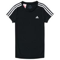 Odjeća Djevojčica Majice kratkih rukava adidas Performance G 3S T Crna