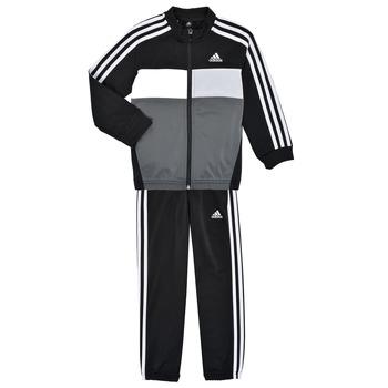 Odjeća Dječak  Dvodijelne trenirke adidas Performance B TIBERIO TS Crna / Siva