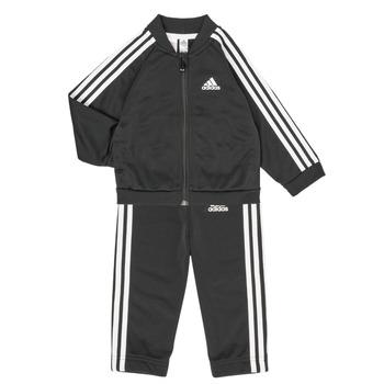 Odjeća Djeca Dječji kompleti adidas Performance 3S TS TRIC Crna
