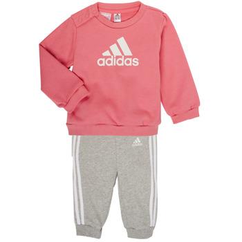 Odjeća Djevojčica Dječji kompleti adidas Performance BOS JOG FT Ružičasta
