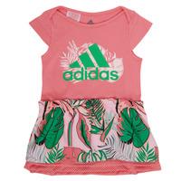 Odjeća Djevojčica Kratke haljine adidas Performance FLOWER DRESS Ružičasta