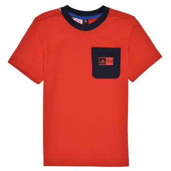 Odjeća Dječak  Dječji kompleti adidas Performance LB DY SHA SUM Red