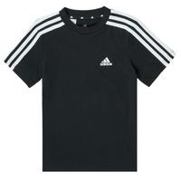 Odjeća Dječak  Majice kratkih rukava adidas Performance B 3S T Crna