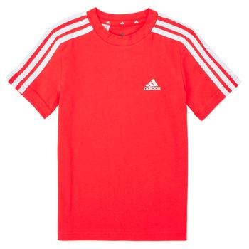 Odjeća Dječak  Majice kratkih rukava adidas Performance B 3S T Red