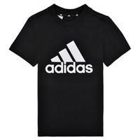 Odjeća Dječak  Majice kratkih rukava adidas Performance B BL T Crna