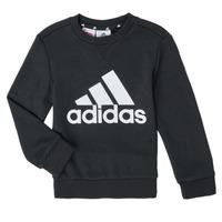 Odjeća Dječak  Sportske majice adidas Performance B BL SWT Crna