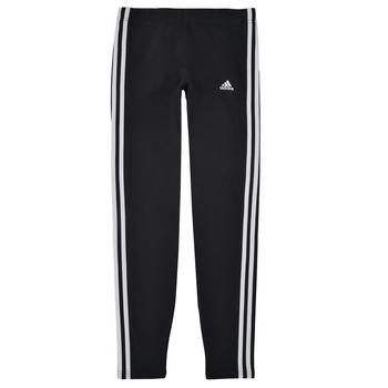 Odjeća Djevojčica Tajice adidas Performance G 3S LEG Crna