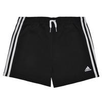 Odjeća Djevojčica Bermude i kratke hlače adidas Performance G 3S SHO Crna