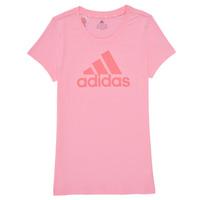 Odjeća Djevojčica Majice kratkih rukava adidas Performance G BL T Ružičasta