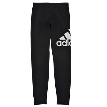 Odjeća Djevojčica Tajice adidas Performance G BL LEG Crna