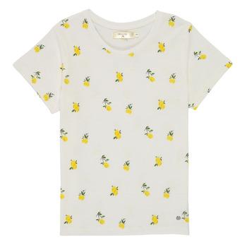 Odjeća Djevojčica Majice kratkih rukava Deeluxe NADY Bijela