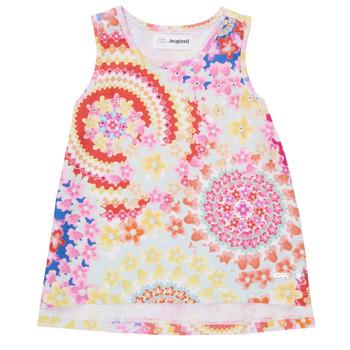 Odjeća Djevojčica Majice s naramenicama i majice bez rukava Desigual 21SGCW02-3146 Multicolour