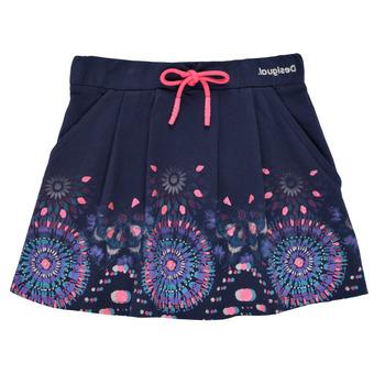 Odjeća Djevojčica Suknje Desigual 21SGFK03-5000 Blue