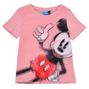 Odjeća Djevojčica Majice kratkih rukava Desigual 21SGTK43-3013 Ružičasta