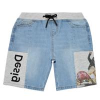 Odjeća Dječak  Bermude i kratke hlače Desigual 21SBDD02-5053 Blue