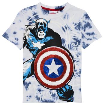 Odjeća Dječak  Majice kratkih rukava Desigual 21SBTK09-5036 Multicolour