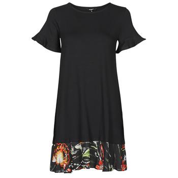 Odjeća Žene  Kratke haljine Desigual KALI Crna